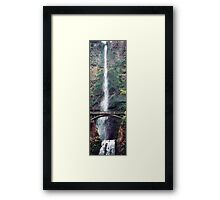 Multonomah Falls Oregon Framed Print