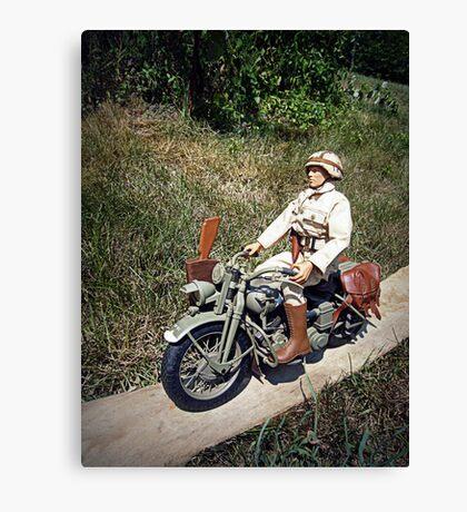 ~Motorcycle Joe~ Canvas Print