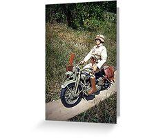 ~Motorcycle Joe~ Greeting Card