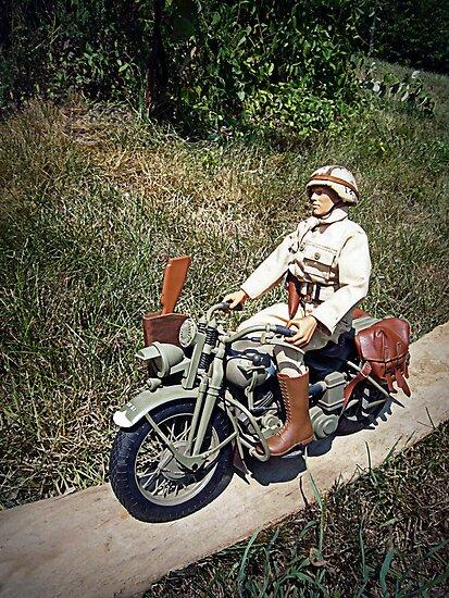 ~Motorcycle Joe~ by Susan S. Kline