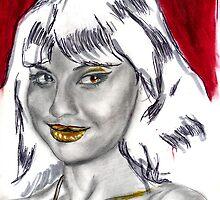 Sketch (Jameela Jamil) by Jerome K-i