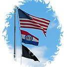 Iron County Flags by Susan S. Kline