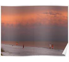seas reflecting sky {Sanibel Skyscape No.3} Poster