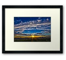 The Bronx Sunset Framed Print
