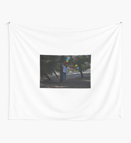 Floating Away Wall Tapestry
