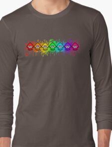 Splatterhouse - RAINBOW INK Long Sleeve T-Shirt