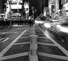 Times Square Long Exposure. by frankeestadium