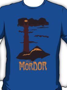 Mordor vintage travel poster T-Shirt