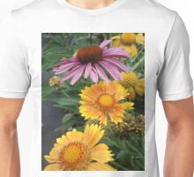 Coneflower and Indian Blankets T-Shirt