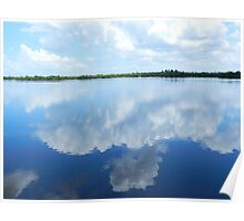 Sanibel Skyscape No. 4{Wonderland Through the Looking Glass} Poster