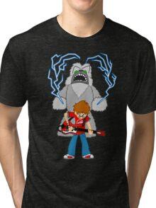 Scott Pilgrim - The Sex Bob-Omb Yeti Tri-blend T-Shirt