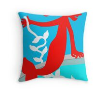 I will kidnap to the love Throw Pillow