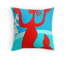 I will kidnap to the love 9 Throw Pillow