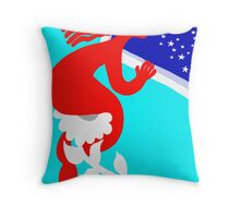 I will kidnap to the love 10 Throw Pillow