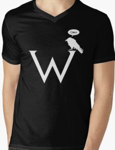 Watchers on the Wall tshirt contest design: Corn! (undistressed) Mens V-Neck T-Shirt