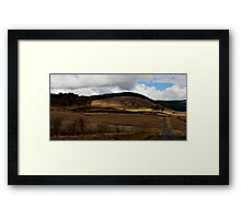Waiting for the rain.... Framed Print