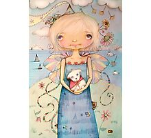 Mary's Little Lamb Photographic Print