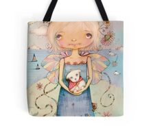 Mary's Little Lamb Tote Bag
