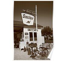 Route 66 - Paris Springs Missouri Poster
