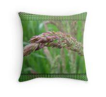 How the Grass Grows Throw Pillow