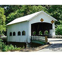 Rochester Covered Bridge Photographic Print