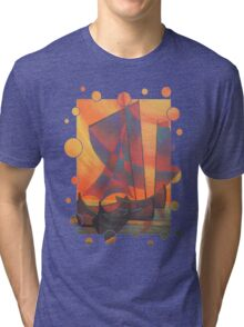 Red Sails In The Sunset Tri-blend T-Shirt