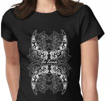 LA LUNA - Two moons Womens Fitted T-Shirt