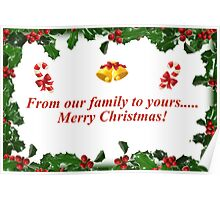From Our Family to Yours..... Poster