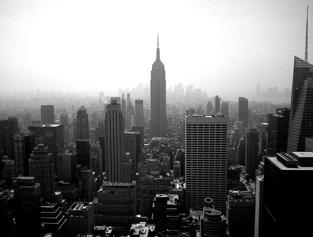 Gotham Skyline by Jeffrey West