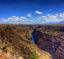 Rio Grande Gorge Bridge by njordphoto