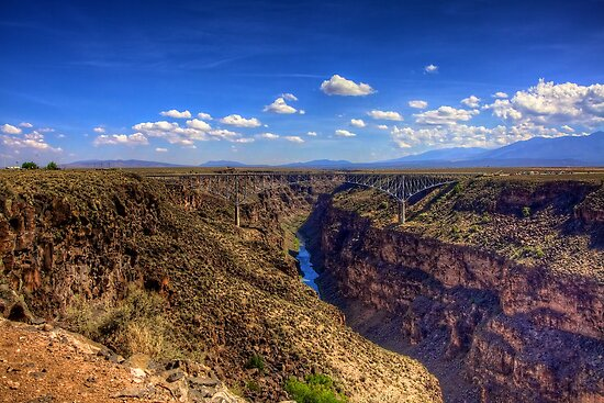 Gorge Bridge by njordphoto