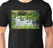 White Geese Unisex T-Shirt