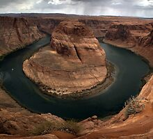 Horseshoe Bend Full Bend by Judson Joyce