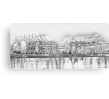 Battleground - Heinz Field Canvas Print