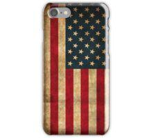 Vintage American Flag iPhone Case/Skin