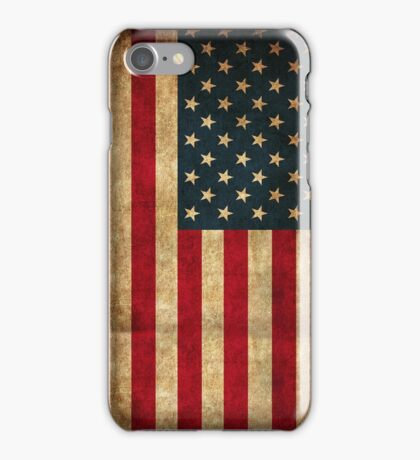 Vintage American Flag iPhone Case/Skin