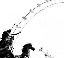 Boudica Takes on London by Elizabeth Tunstall
