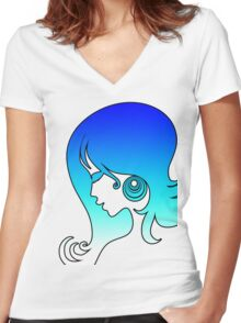 Cool Breeze # 2 Women's Fitted V-Neck T-Shirt