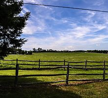 Farm Landscape by wjwphotography