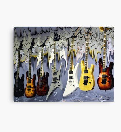 View of Sound Canvas Print