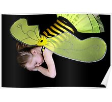 Bumble Bee At Rest Poster
