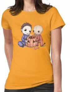 Halloween Helper Womens Fitted T-Shirt