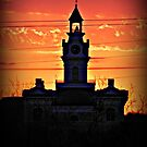 Sunset Courthouse  by Kimberly Darby