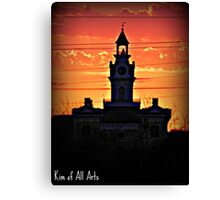 Sunset Courthouse  Canvas Print