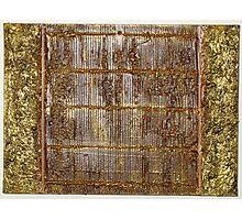 Golden Bamboo Photographic Print