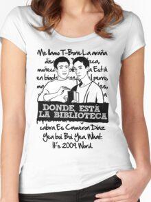 La Biblioteca | Community Women's Fitted Scoop T-Shirt