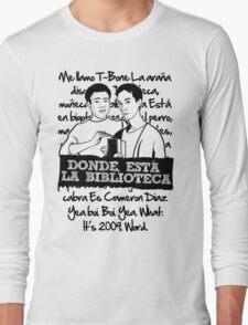 La Biblioteca   Community Long Sleeve T-Shirt