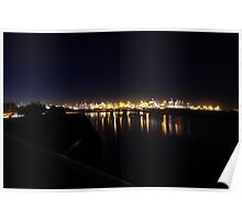 First Light - Port Botany Poster