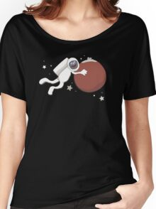 Grover goes to Mars Women's Relaxed Fit T-Shirt