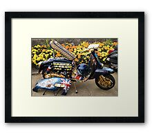 England Expects Framed Print